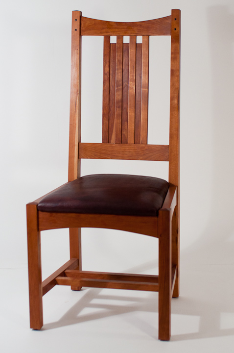 Arts And Crafts Dining Chair Prototype on design and build your own chair