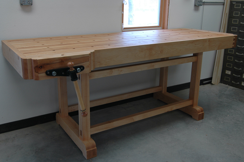 Stonehouse woodworking blog archive maple work bench work bench 2008 6 sciox Gallery